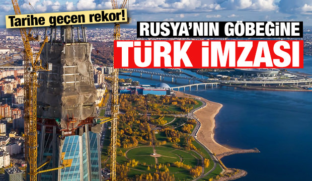 Rusya'nın göbeğine 'Türk imzası'