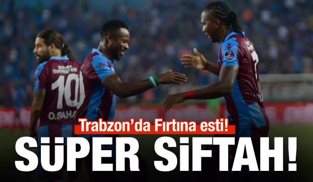 Trabzon'da tek devrelik Fırtına!