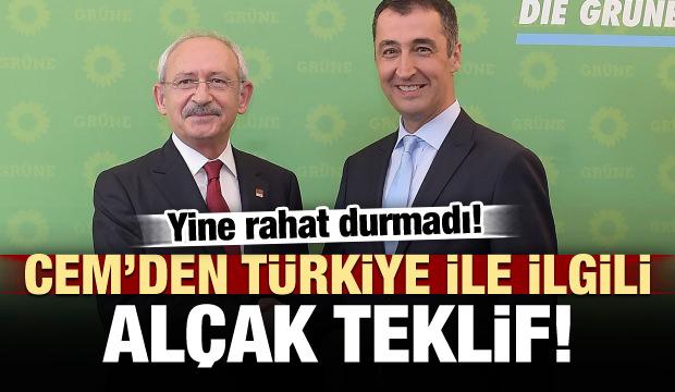 Cem'den 'Türkiye' ilgili alçak teklif!