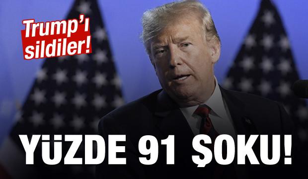 Donald Trump'a anket şoku!