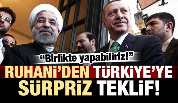 İran'dan Türkiye'ye sürpriz teklif!