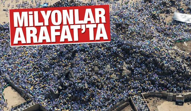 Milyonlar Arafat'ta buluştu