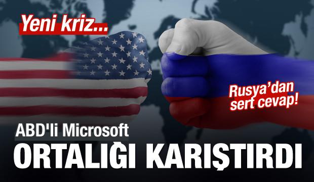Rusya-ABD arasında yeni kriz!