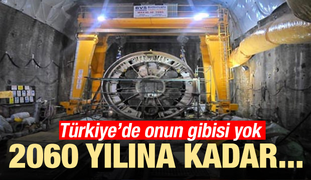 Türkiye'de onun gibisi yok! 2060'a kadar...