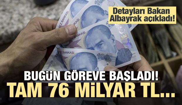 Bakan Albayrak açıkladı: 76 milyarlık tasarruf