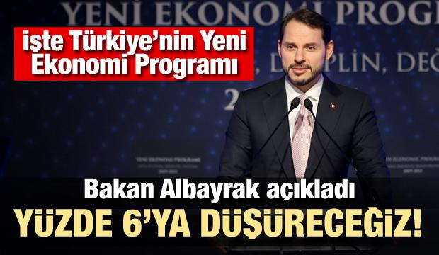 Bakan Albayrak Yeni Ekonomi Prgoramı'nı açıkladı