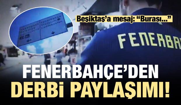 Dev derbi öncesi F.Bahçe'den Beşiktaş'a mesaj!