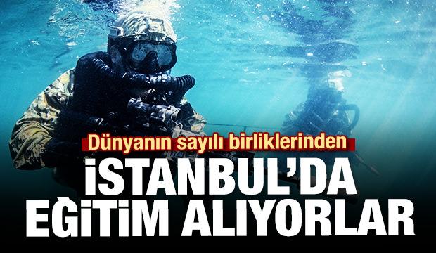 Dünyanın sayılı birliklerinden! İstanbul'da...