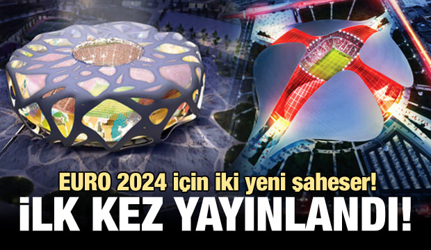EURO 2024 için iki yeni şaheser!