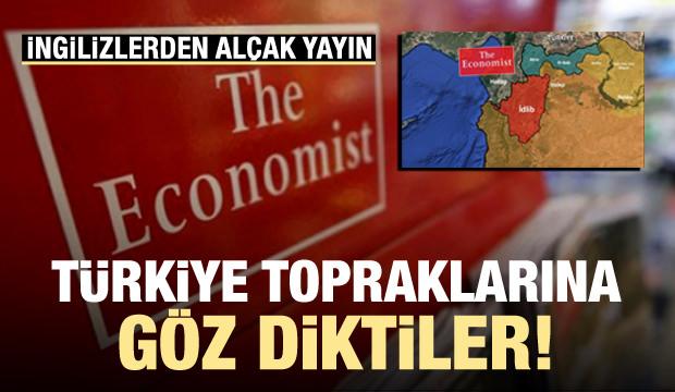 İngilizlerden alçak yayın! Türkiye'ye göz diktiler