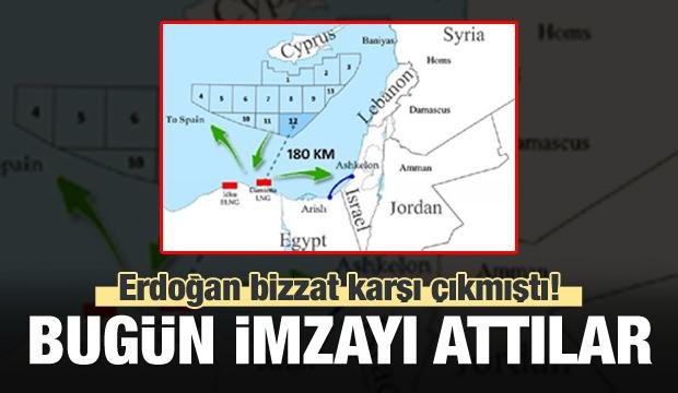 Mısır ile Rum yönetimi anlaştı: Ankara takipte