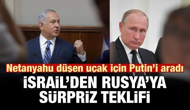 Netanyahu'dan Rus uçağı açıklaması!