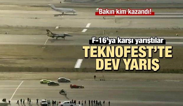 TEKNOFEST'te dev yarış! F-16'ya karşı yarıştırlar