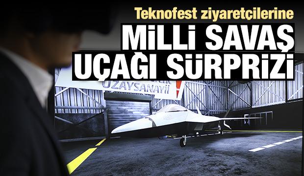 Teknofest'te milli savaş uçağı sürprizi
