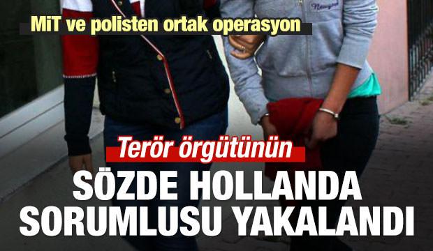 Terör örgütünün sözde Hollanda sorumlusu yakalandı