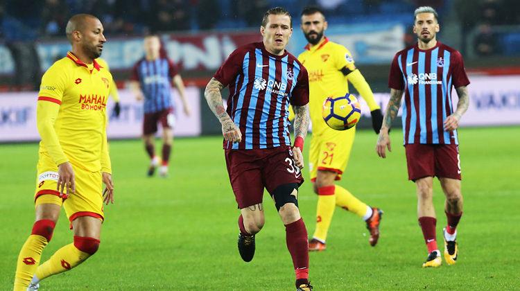 Trabzonspor-Göztepe maçında 11'ler belli oldu