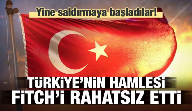 Türkiye'nin hamlesi Fitch'i rahatsız etti!