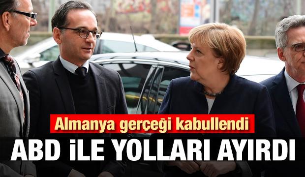 Almanya gerçeği kabullendi! ABD ile yolları ayırdı