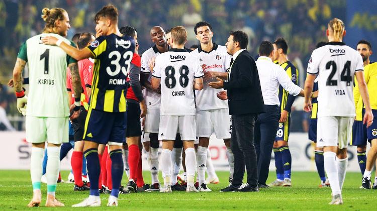 Derbi sonrası F.Bahçe ve Beşiktaş'a PFDK şoku