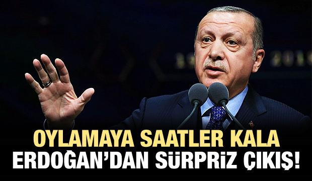 Erdoğan: Adil bir değerlendirme bekliyoruz!