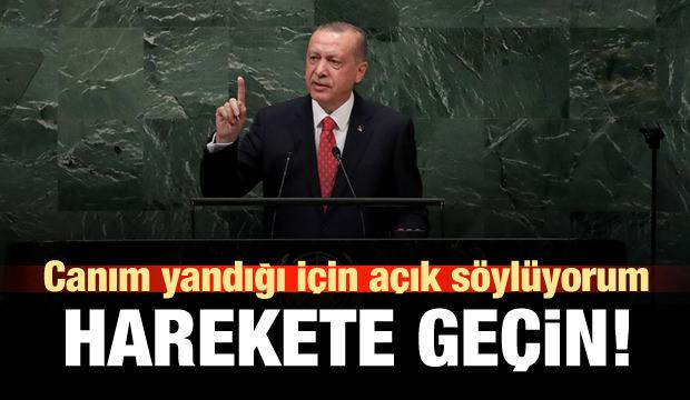 Erdoğan: Canım yandığı için açık söylüyorum!