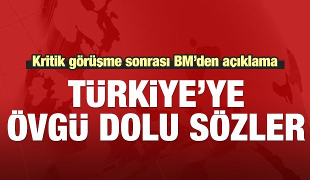 Erdoğan-Guterres ile görüştü