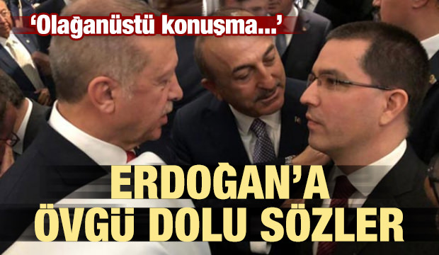 Erdoğan'a övgü dolu sözler! Olağanüstü...