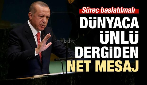Erdoğan'dan net BM mesajı