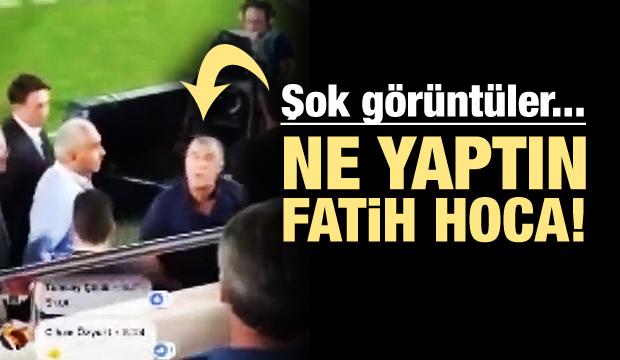 Fatih Terim taraftarla küfürleşti!