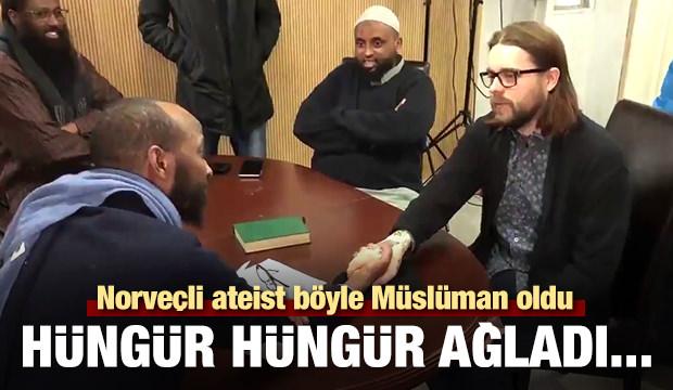 Norveçli ateist böyle Müslüman oldu