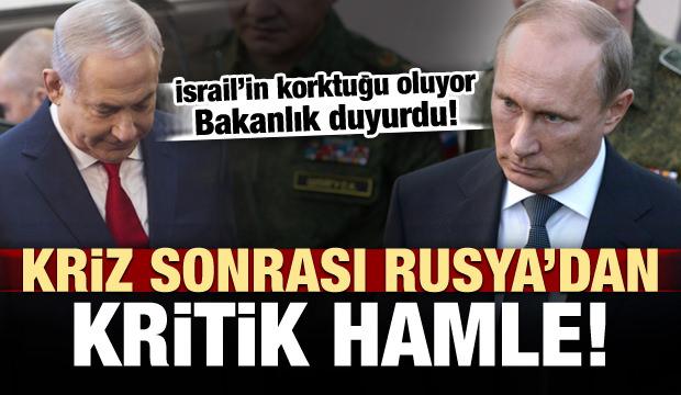 Rusya'dan kritik hamle! İsrail'in korktuğu oluyor