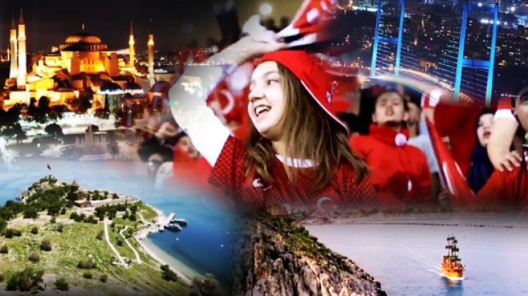 Türkiye böyle tanıtıldı! Harika görüntüler
