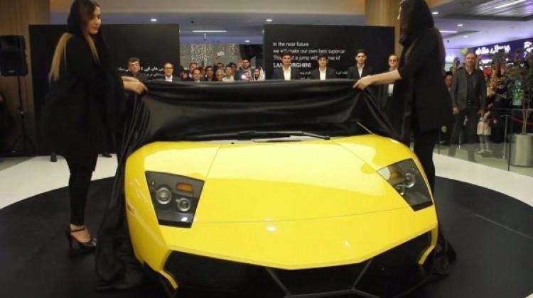 İran'ın yeni çakması! Lamborghini'yi kopyaladılar