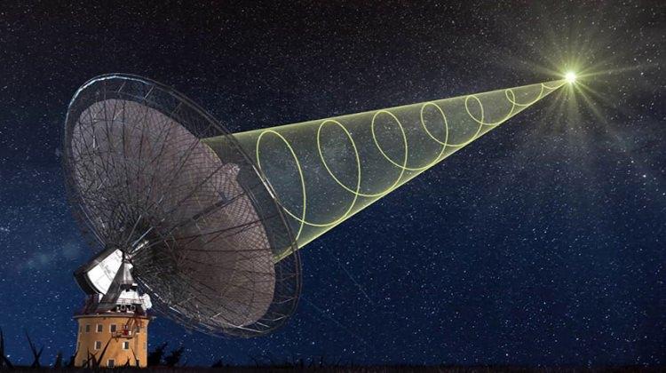 425 milyon ışık yılı uzaklıktan sinyal geldi!
