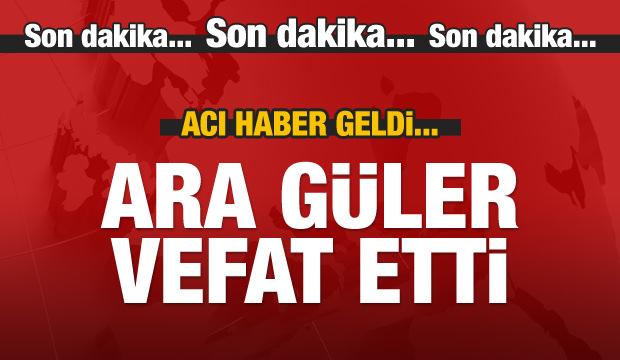 Ara Güler vefat etti