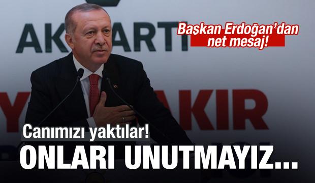 Başkan Erdoğan: Fırsatçıları unutmayız...