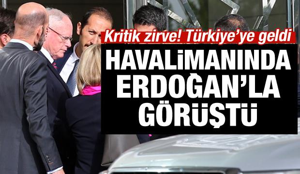 Kritik görüşme! Erdoğan Pompeo'yu kabul etti