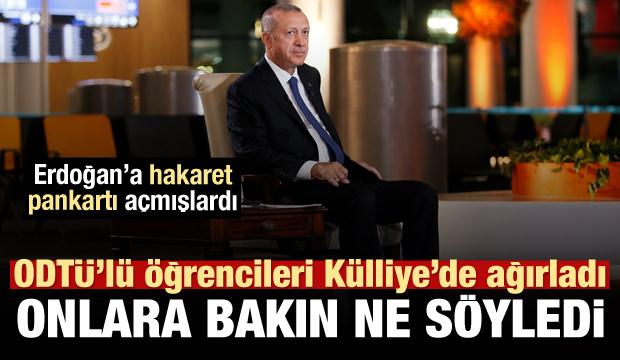 Erdoğan'dan ODTÜ'lü öğrencilerle ilgili karar!
