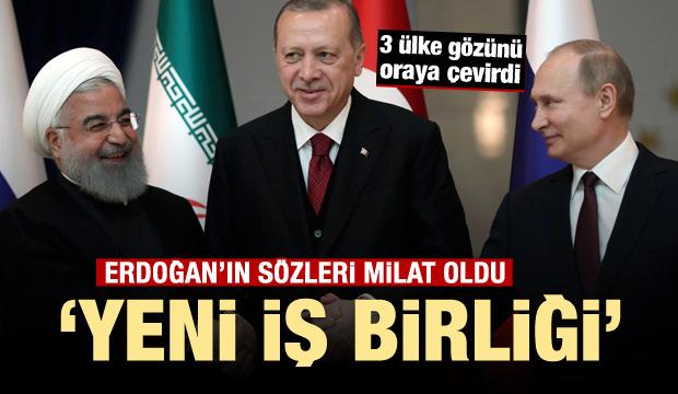 Erdoğan'ın sözleri milat oldu! 'Yeni iş birliği'