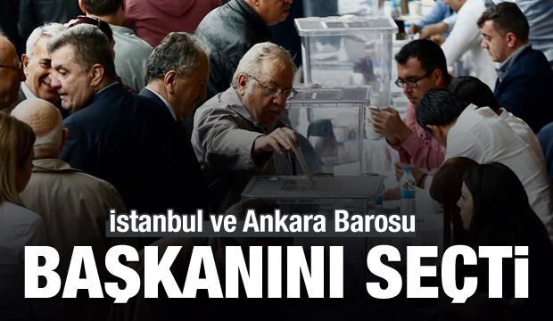 İstanbul ve Ankara Barosu'nun başkanı belli oldu