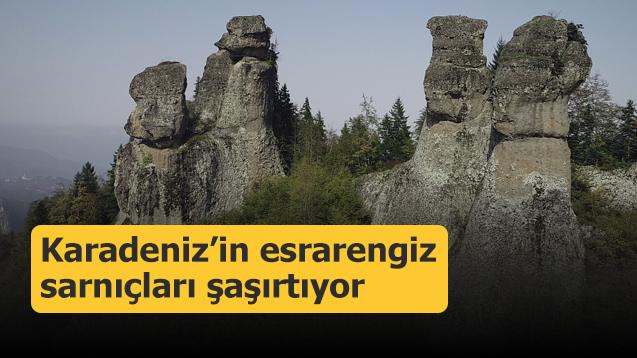 Karadeniz'in esrarengiz sarnıçları şaşırtıyor
