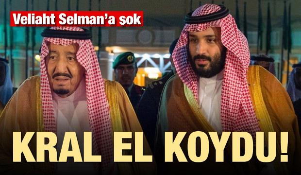 Kral Selman el koydu! Veliaht Selman'a büyük şok