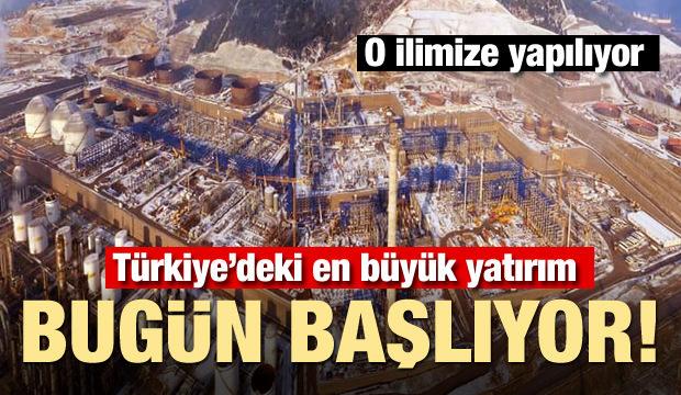 O ilimize yapıyor! Türkiye'deki en büyük yatırım bugün başlıyor
