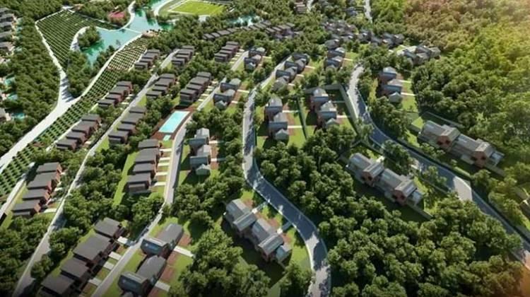 Riva arazisine yapılacak proje tanıtıldı