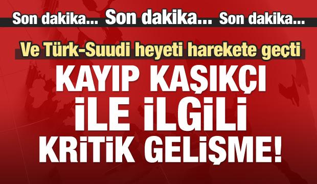 Türk ve Suudi heyeti konsoloslukta!
