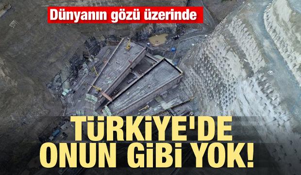 Türkiye'de onun gibi yok! Dünyanın gözü üzerinde