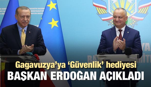 Türkiye'den Gagavuzya'ya güvenlik hediyesi