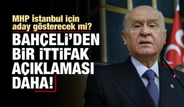 Bahçeli'den 'İstanbul' açıklaması
