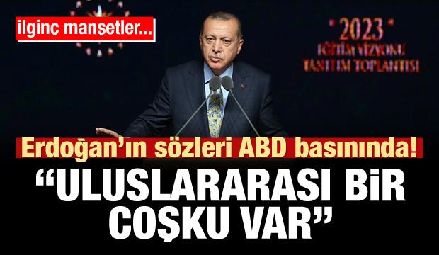 Erdoğan'ın sözleri ABD basınında!