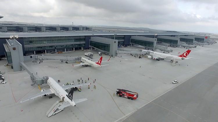 İstanbul Yeni Havalimanı tarihe geçecek